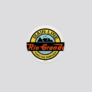 Rio Grande Rockies Railway Mini Button